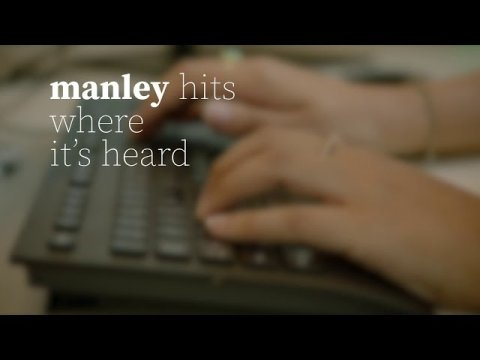 manley hits where it's heard